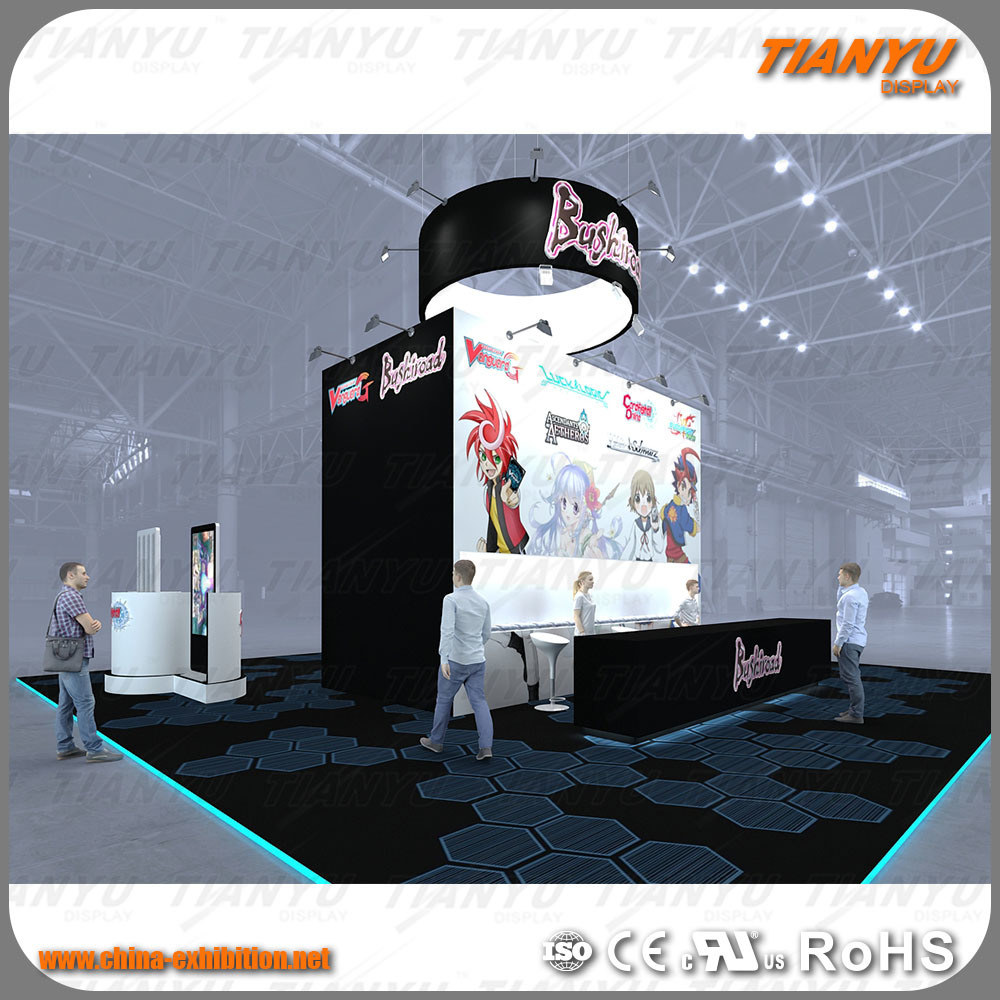 Exhibition Booth Animation : Choose from our modern trade show booth options