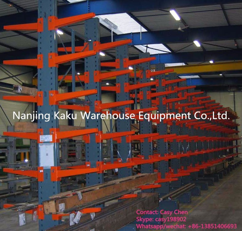 Double Faced Steel Storage Heavy Duty Cantilever Shelf for Industry pictures & photos