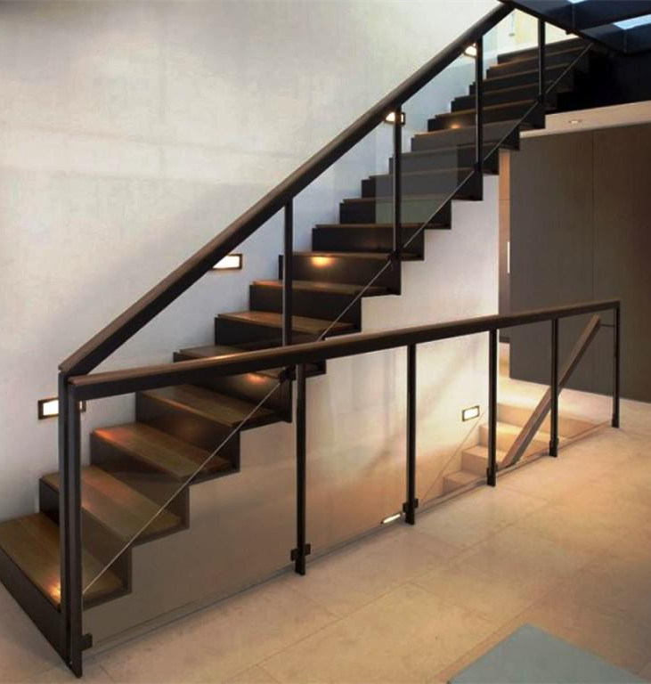 China Customized Glass Railing / Stainless Steel Baluster ...