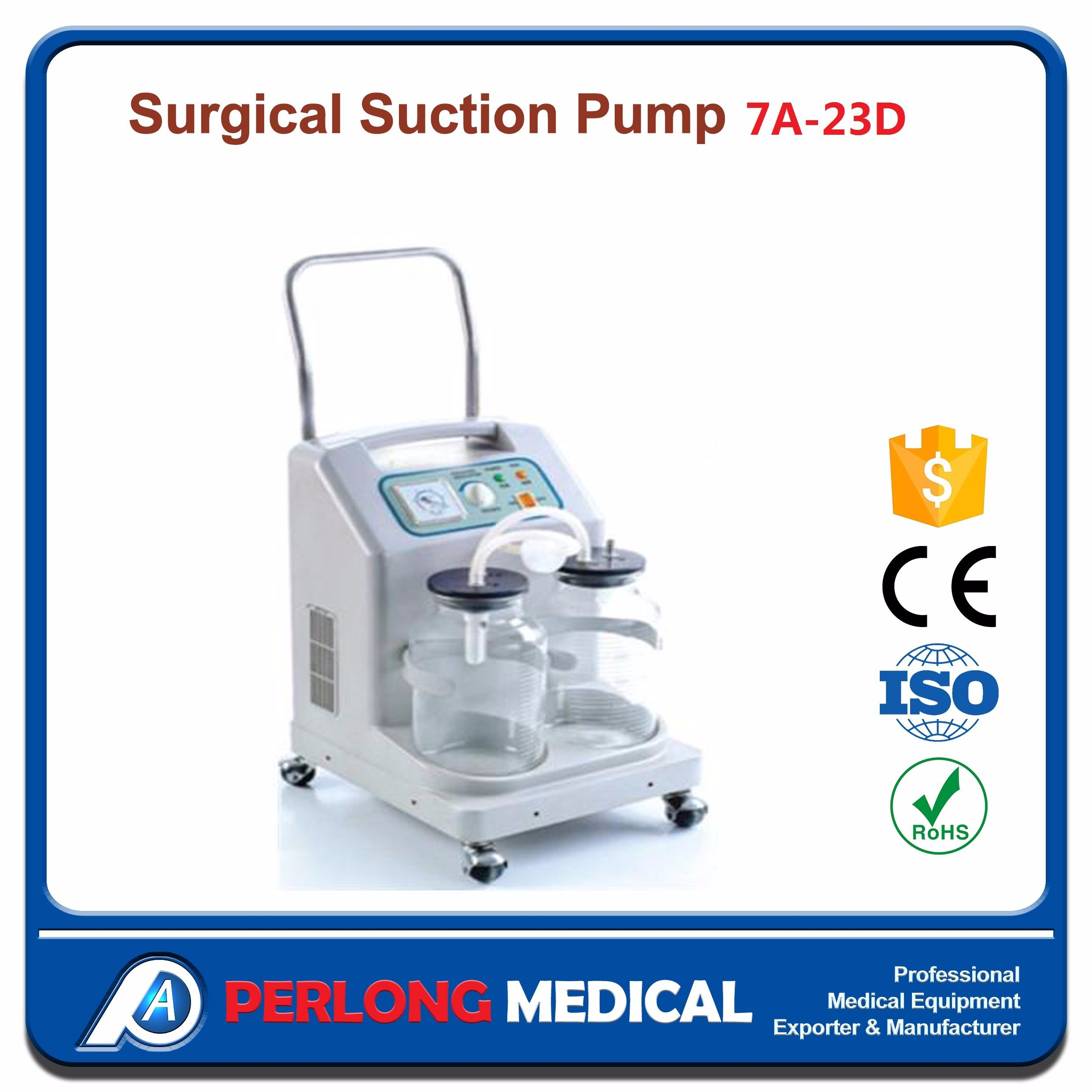 [Hot Item] Surgical Equipment Suction Pump Unit with Ce Approved