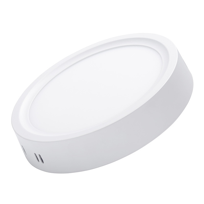 promo code e1d24 a5222 [Hot Item] China Factroy Price White Housing Aluminum 18watt Round Panel  Lamp Downlight Surface 2835 LED Ceiling Lights 12W
