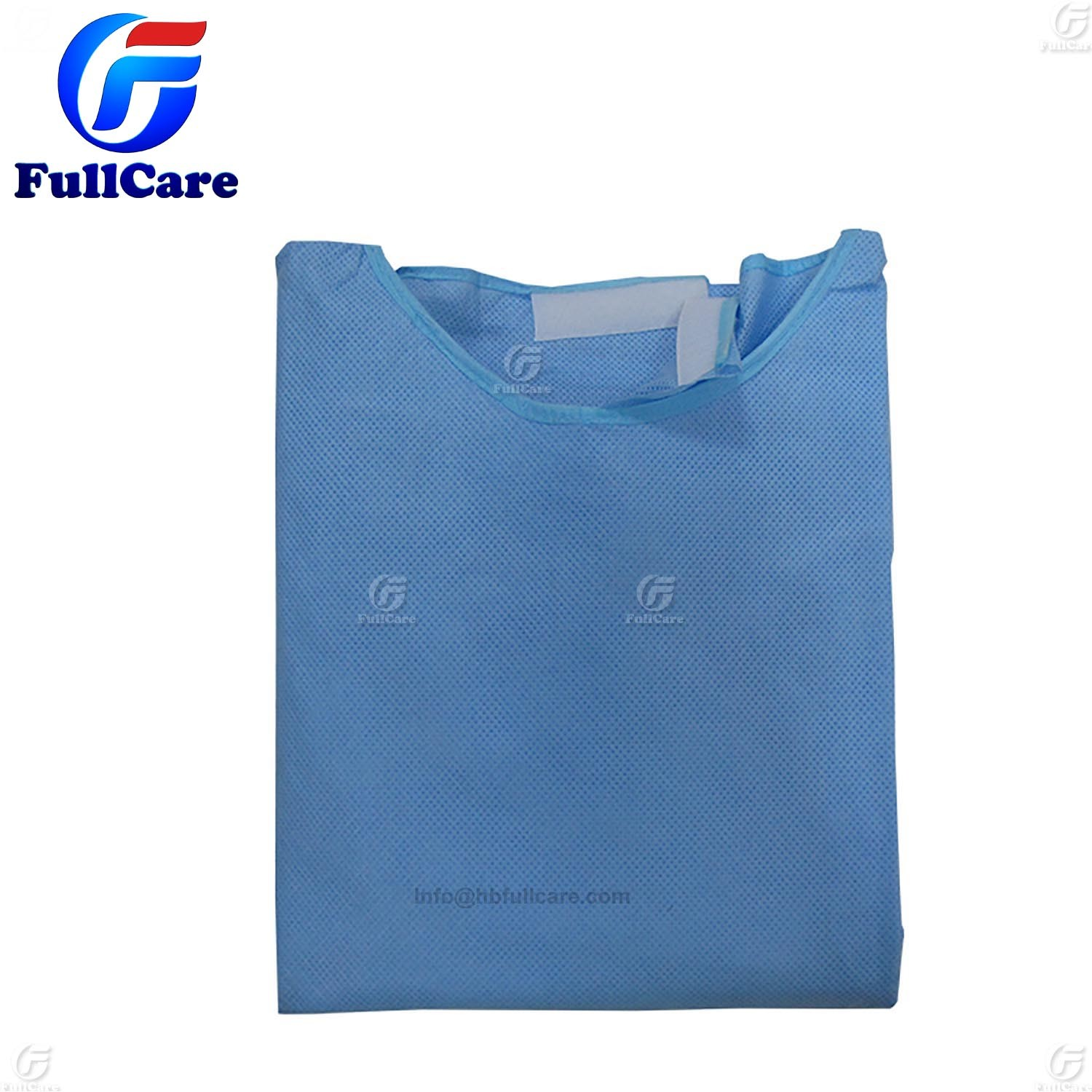 China Medical Product Work Clothes Sterile Surgical Gown Plastic ...