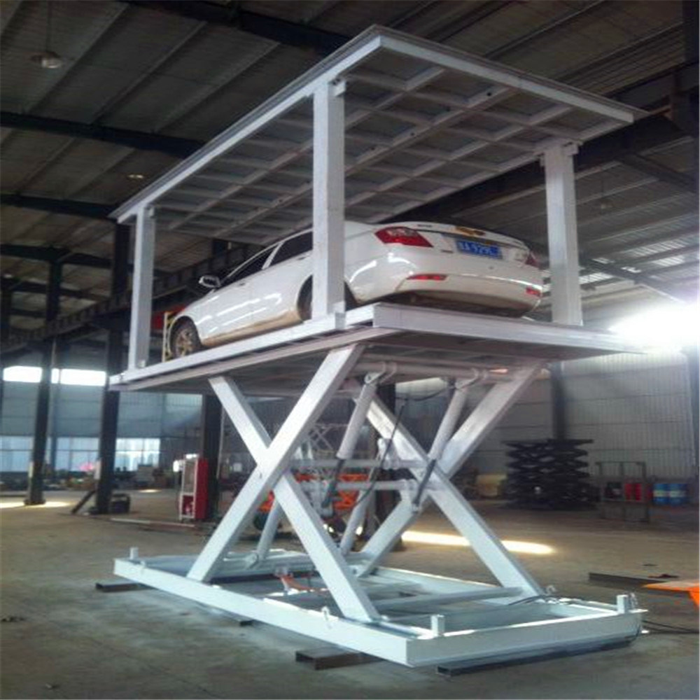 [Hot Item] Scissor Type Portable Hydraulic Used Car Lifts for Sale