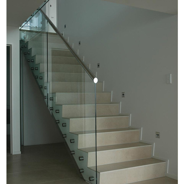 China 15mm Tempered Glass Side Mount Glass Railing/Glass ...