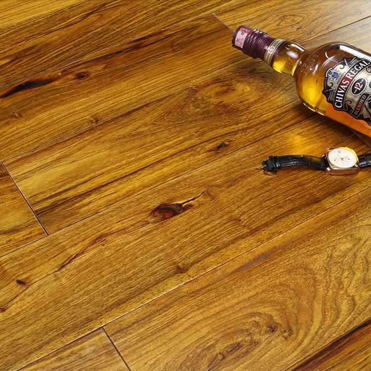 China Interior Strong Durability Solid Bubinga Wooden Flooring