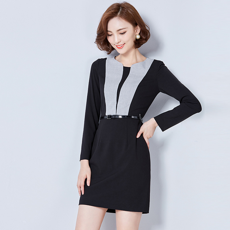 China New Design Ladies Office Dress Slim Fit Career Women Dress China Women Dress And Career Dress Price Conceptual fat overweight obese female dress outfit vs slim fit. china new design ladies office dress