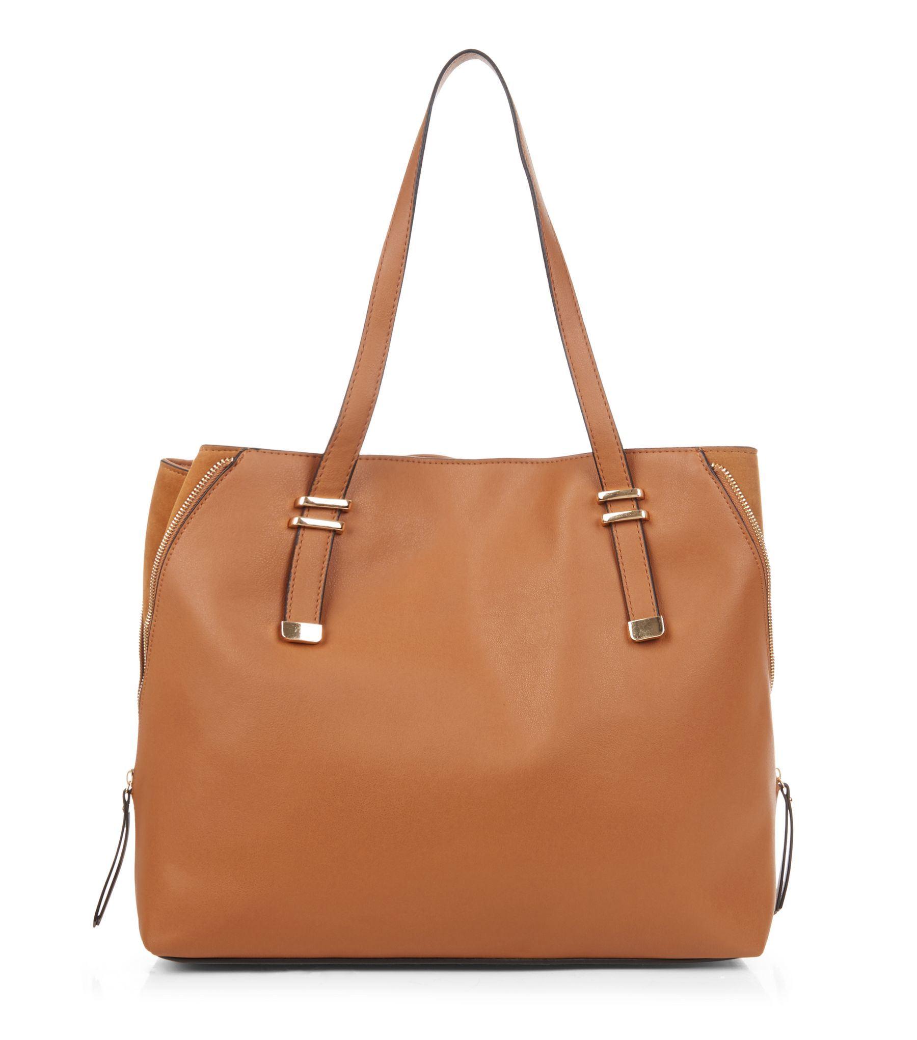 Women/'s Designer Style PU Leather Tote Shopper Hand Bag