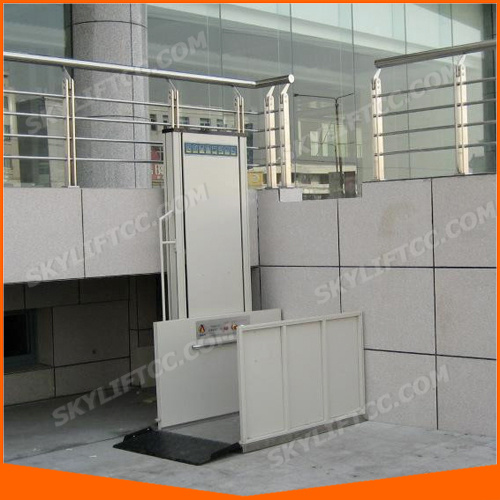 300kg 4m Small Home Elevator Lift/Wheelchair Lift with Ce pictures & photos
