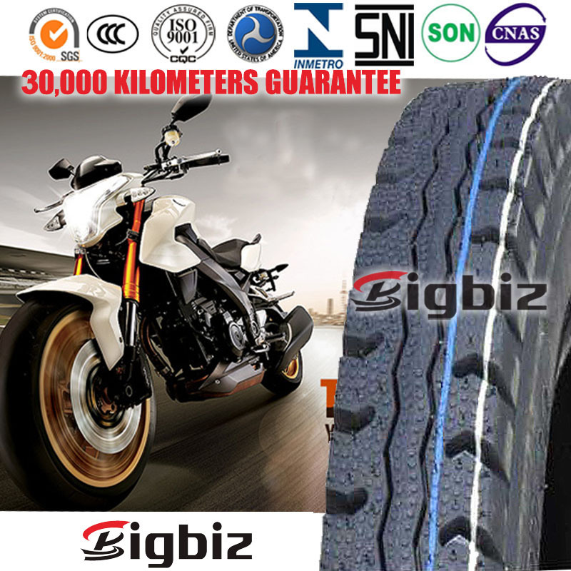 ISO9001: 2008 Certified China Manufacturer High Quality Motorcycle Tyre with Tube