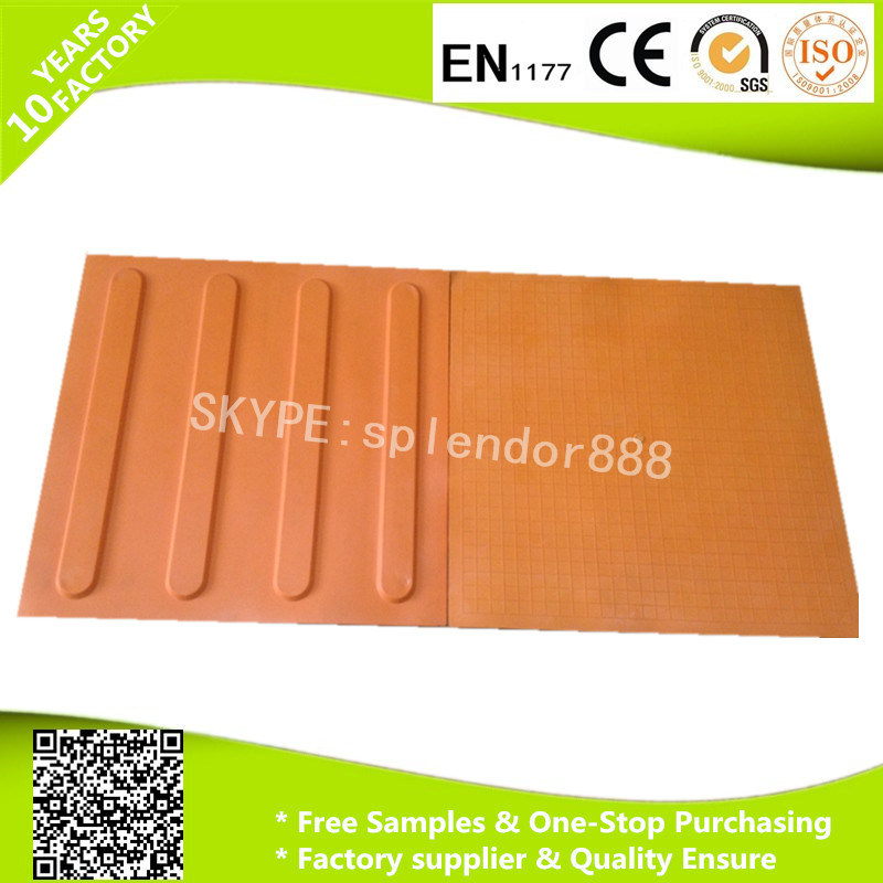 Blind Sidewalk Rubber Tactile Mat for The Blind Man pictures & photos