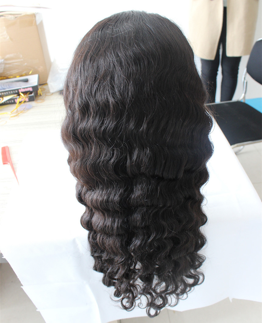 Full Lace Human Hair Wig with Baby Hair