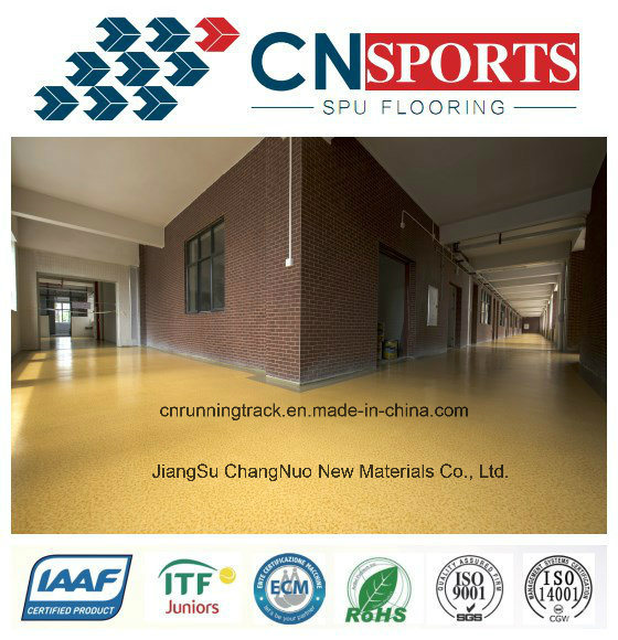 Anti-Slipping Beautiful Polyurea School Flooring pictures & photos
