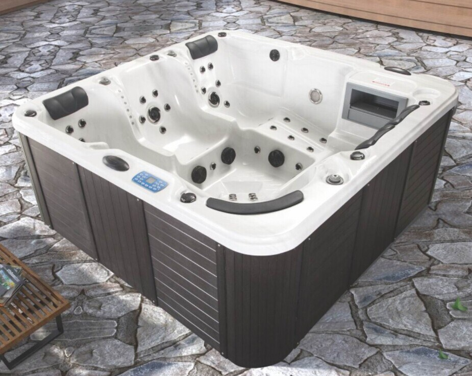 China Hiqh Quality Acrylic Whirlpools Outdoor SPA Bath (JL096 ...