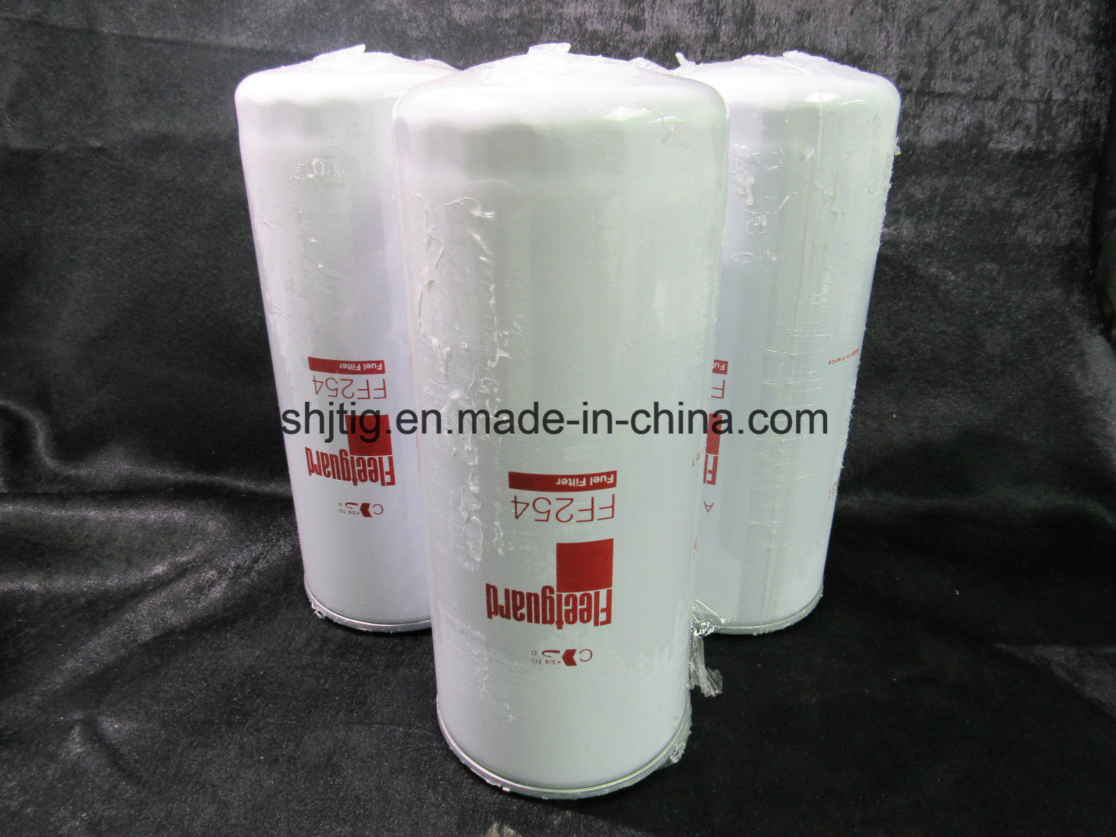 China Fuel Filter Ff254 For Volvo Dump Trucks Excavators Loaders 6 5l Housing Oil