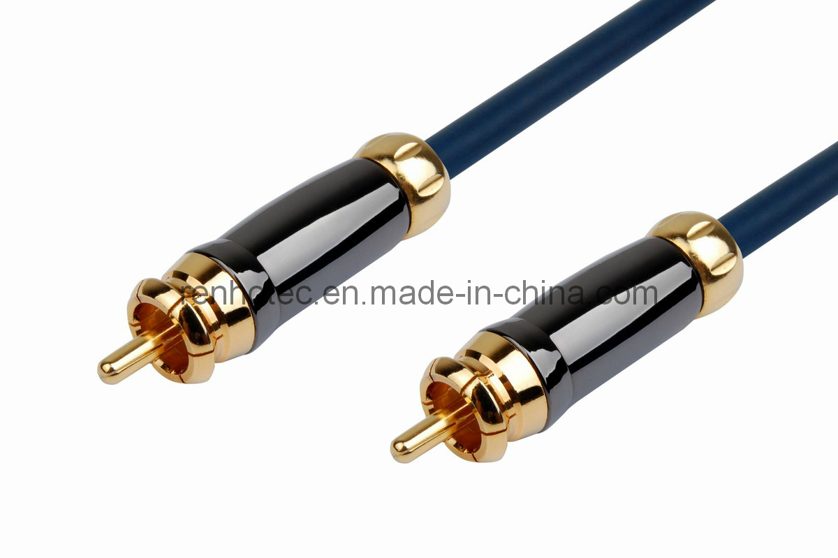 Audio Video High End RCA Cable (RH-811-RCA)