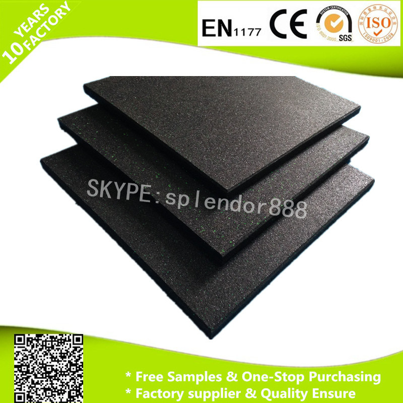 China Noise Reduction Rubber Flooring High Quality Gym Flooring - Noise cancelling flooring