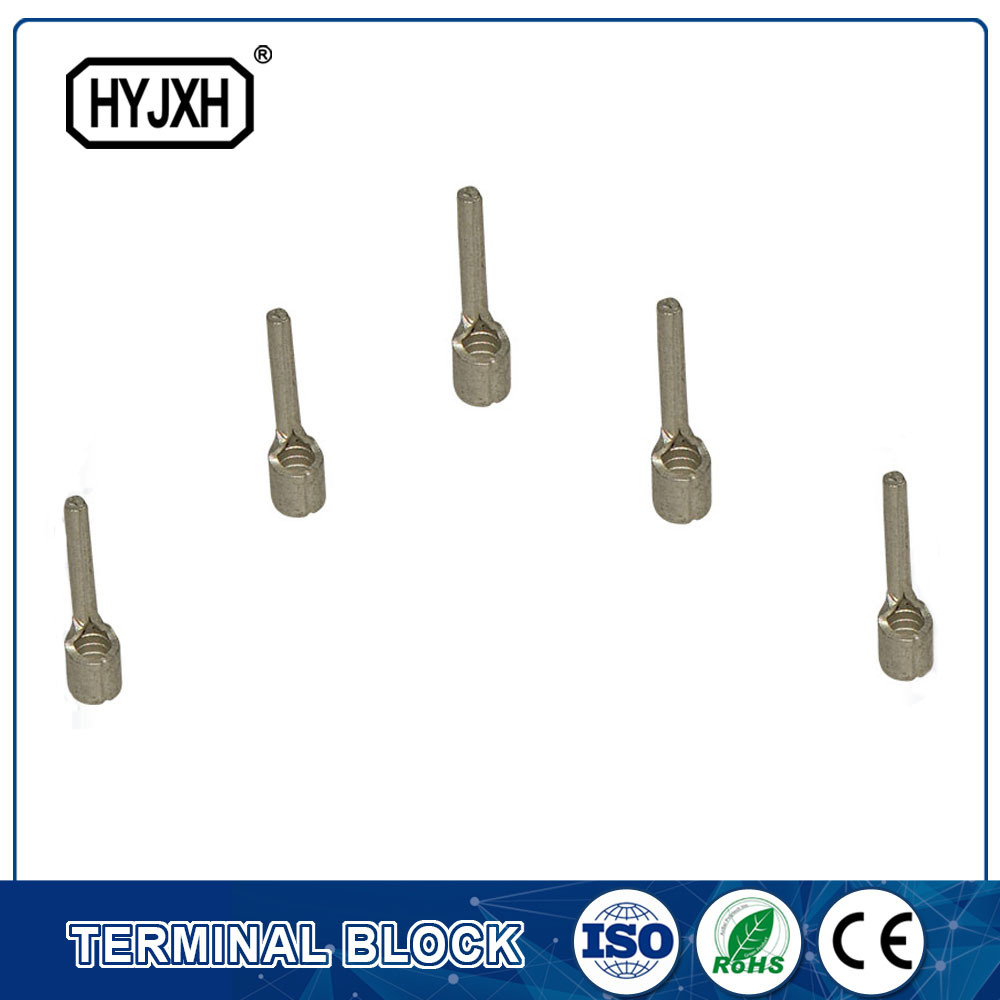 China Non Insulated Electrical Wire Cable Crimp Pin Shaped Naked ...