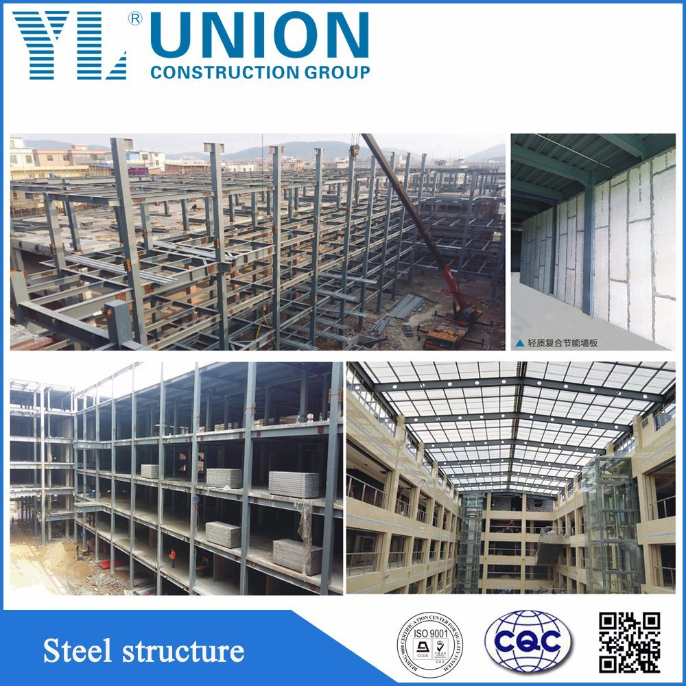 China Prefab Steel Frame House Steel Work Car Parking AISI/ASTM/BS ...