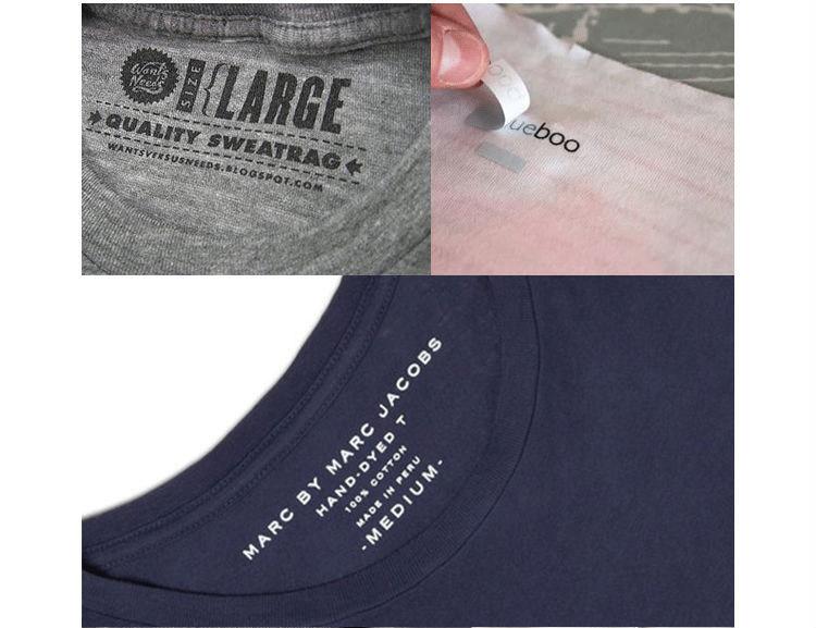 2018 heat transfer printing reflective vinyl logo reflector heat sticker label