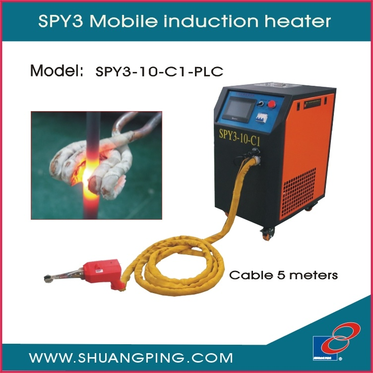 Mobile Induction Heating Machine