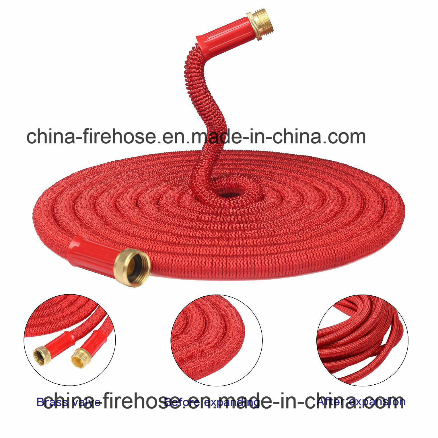 Zhijing Garden Water Retractable Shower Magic Quick Coupling Flexible Water Expandable Garden Hose