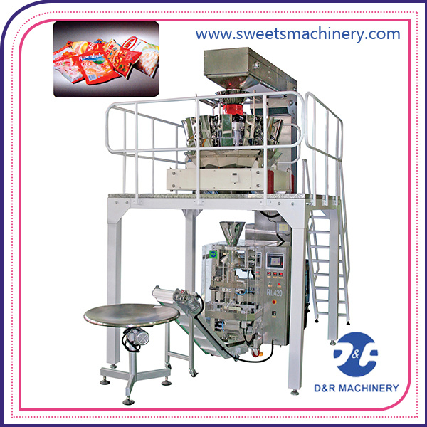 Popped Food Packaging Machine Automatic Vertical Packing Machine