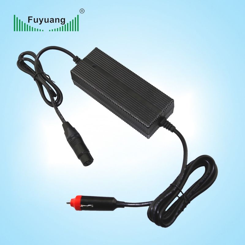 Car Battery Charger 1.5A DC DC Converter 12V to 48V