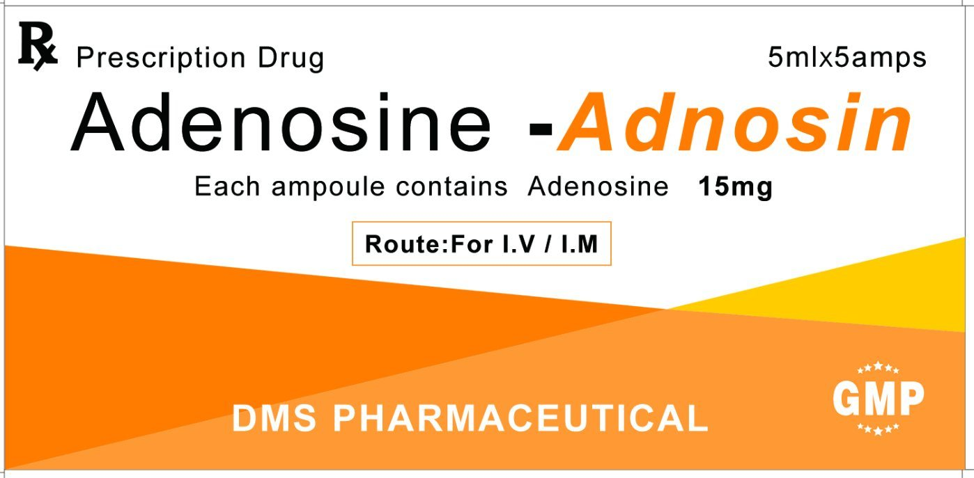 Adenosine CAS 58-61-7 for injection Antiviral Agents