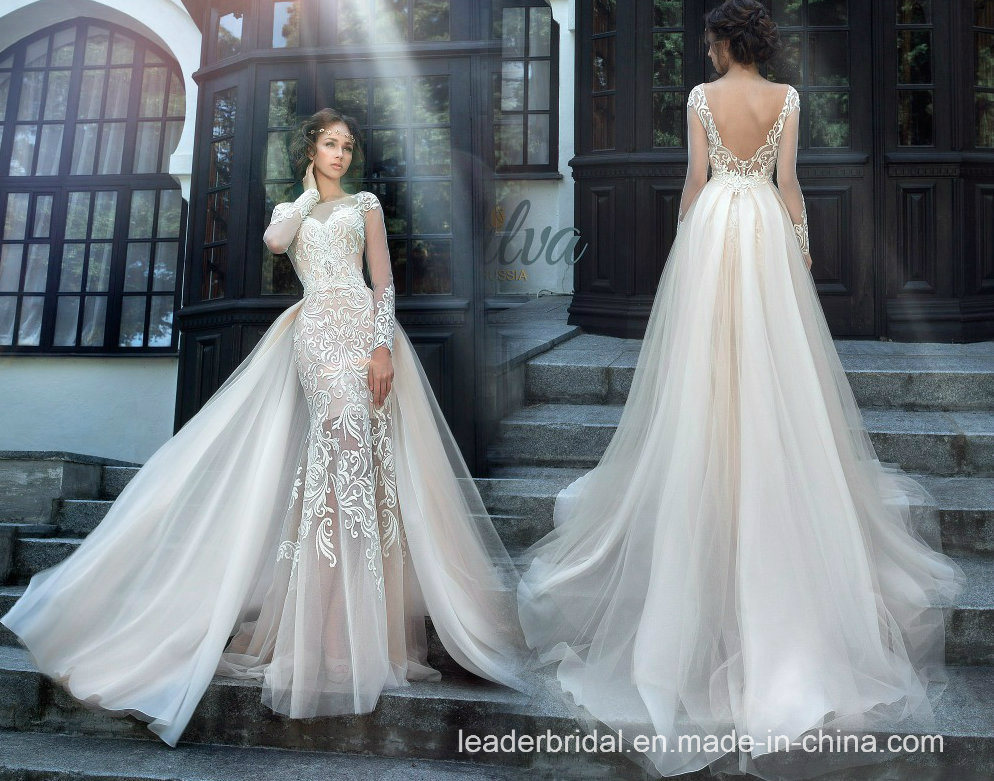 0a448380521f China Lace Bridal Gowns Mermaid Long Sleeves Wedding Dresses W176286 -  China Wedding Dress, Ball Gown