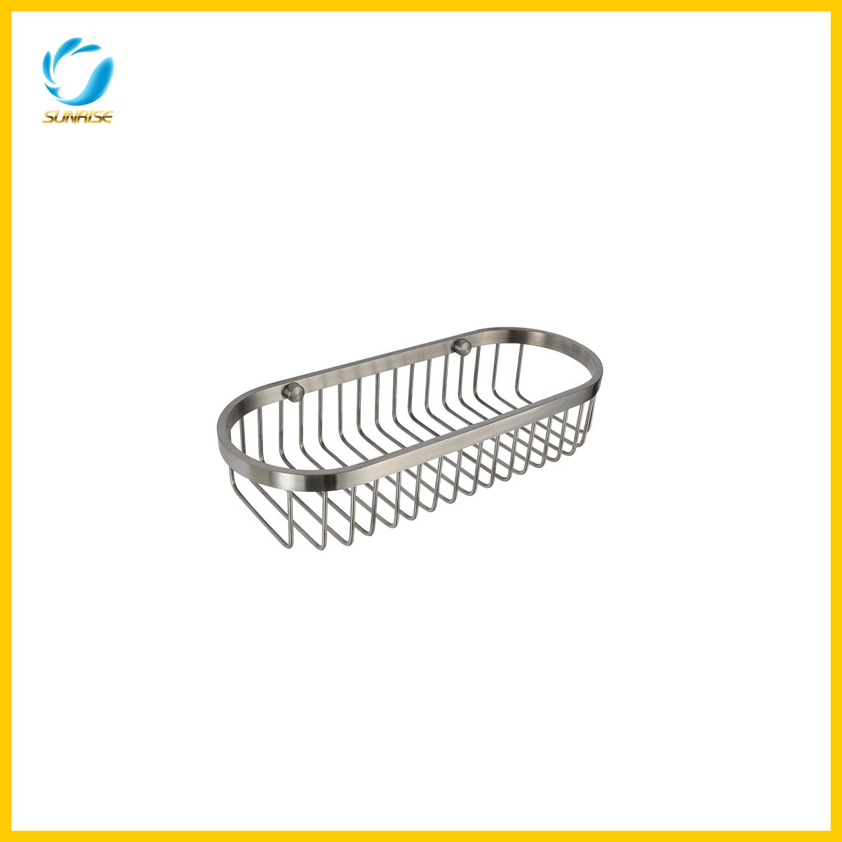 China High Quality Bathroom Stainless Steel Oval Shape Soap Basket ...