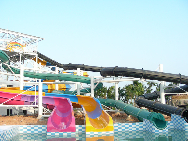Fiberglass Water Park Equipment