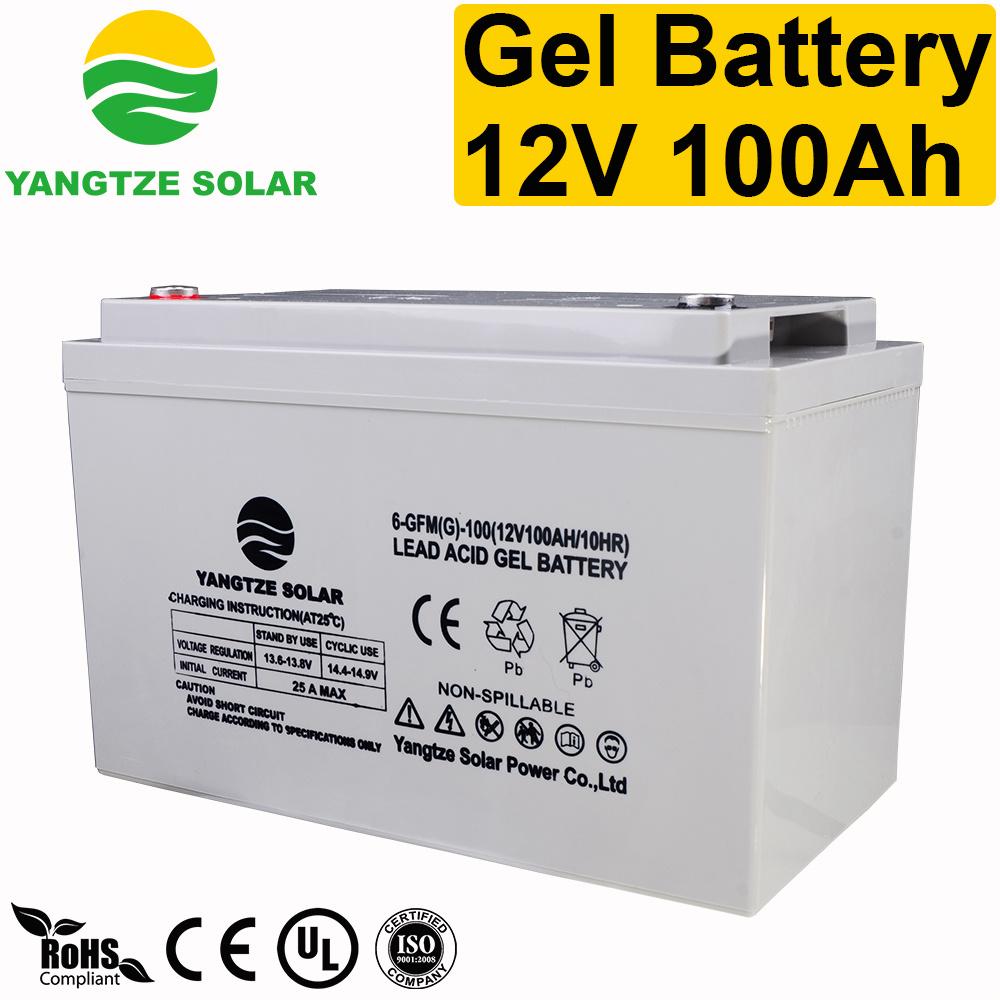 [Hot Item] Gel Batteries Solar 12V 100ah