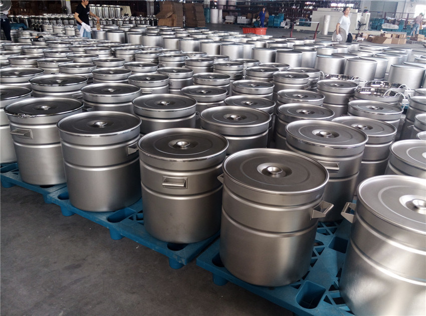 Customized SUS 304 SUS 316L Stainless Steel Barrel 10L -200L