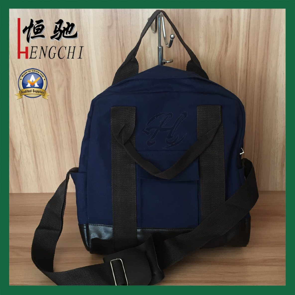 High Quality Fashion Outdoor Campus Oxford Cloth Backpack Bag pictures & photos