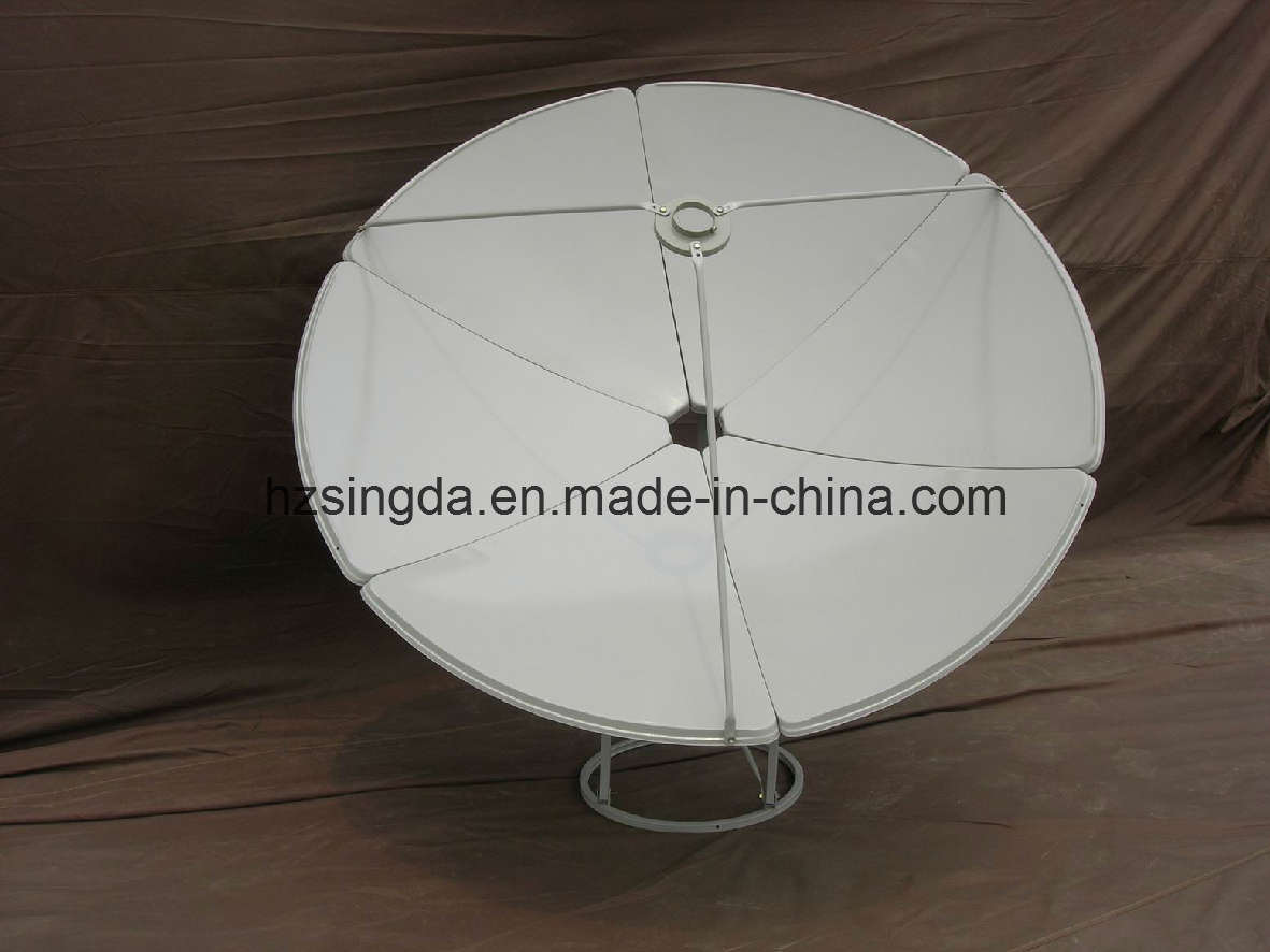 C-Band 180cm Satellite Dish with SGS