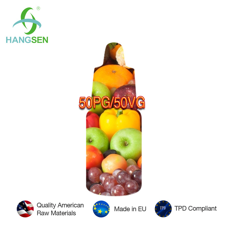 Hangsen 50vg 50pg E-Liquid with Rich Taste