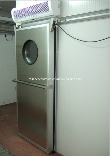 Cold Room Sliding Door with Round Window