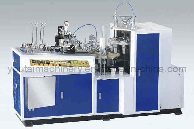 Full Automatic Double PE Film Coaded Paper Cup Forming Machine (YT-Ll)