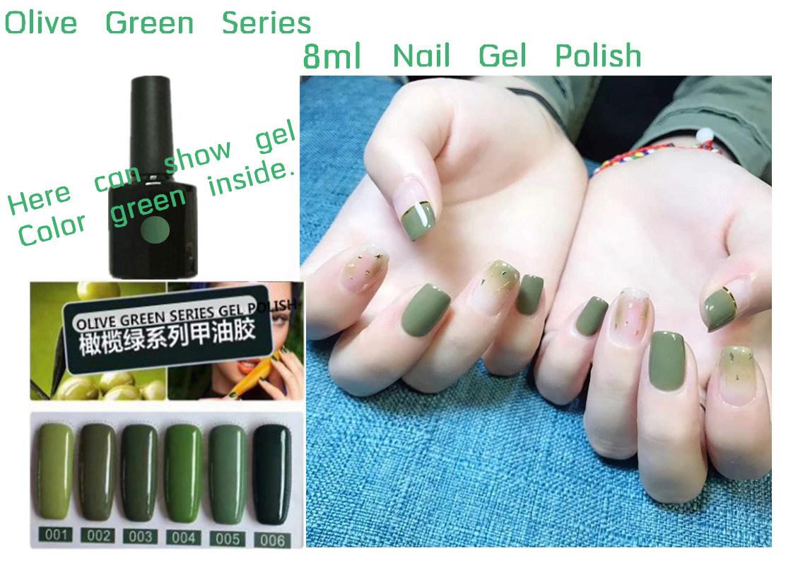 China Factory Oem Private Label 8ml Nail Gel Polish Nail