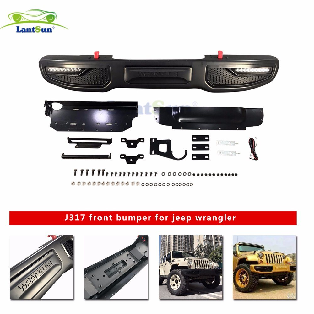 China Wrangler Jk Unlimited Accessories For Jeep Front Bumpers J317