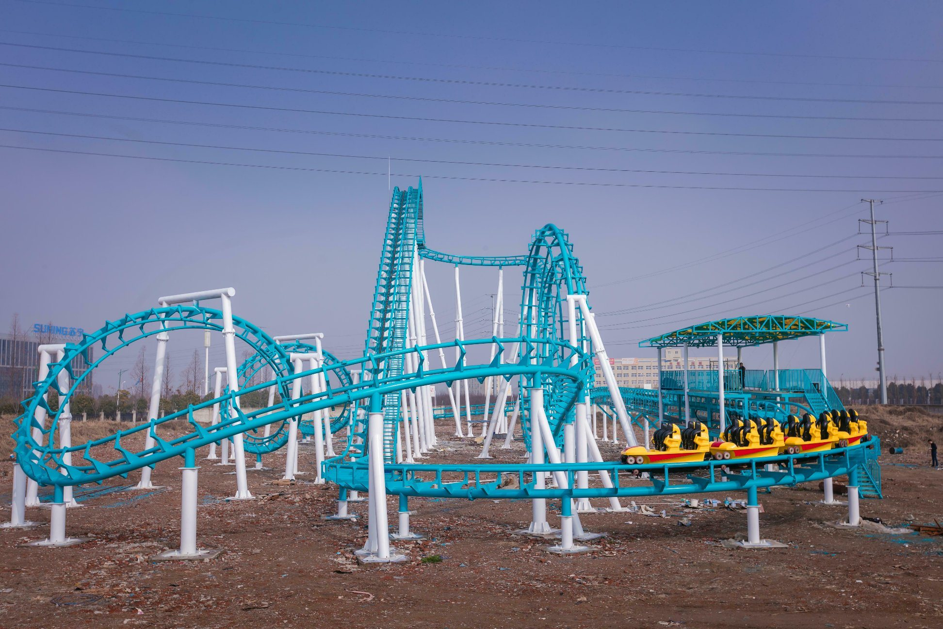 China Factory Outlet Manufacturer 2018 Fute Big Roller Coaster ...