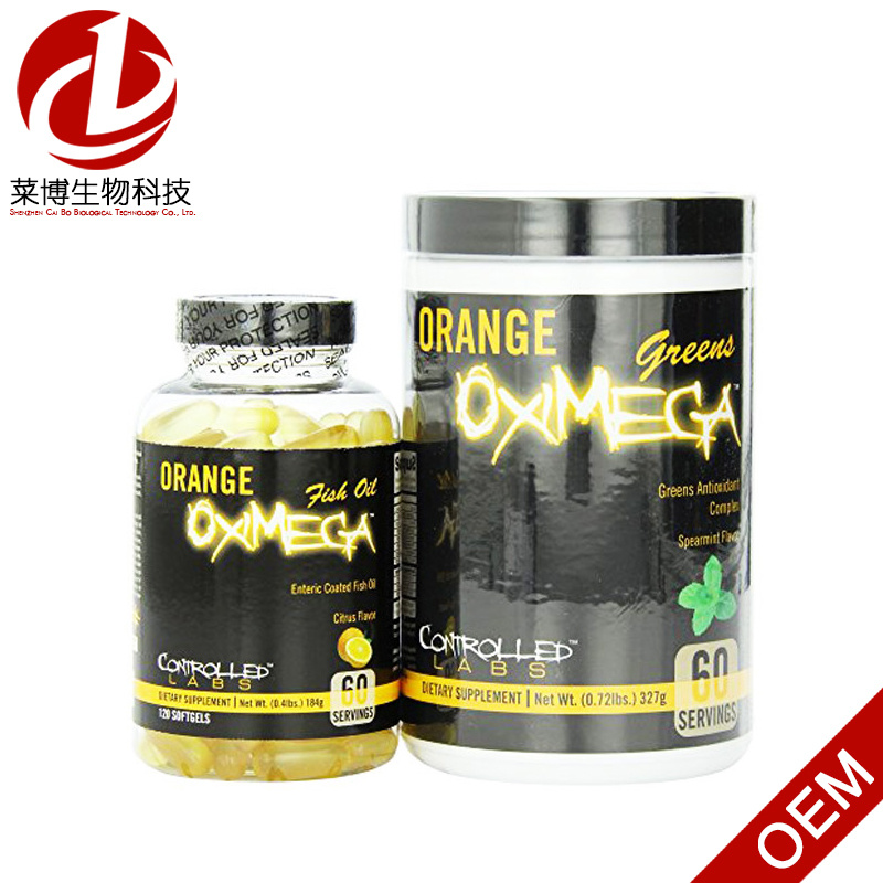 Controlled Labs Orange Oximega: Super Fish Oil & Greens Formulas 2 Piece Kit pictures & photos