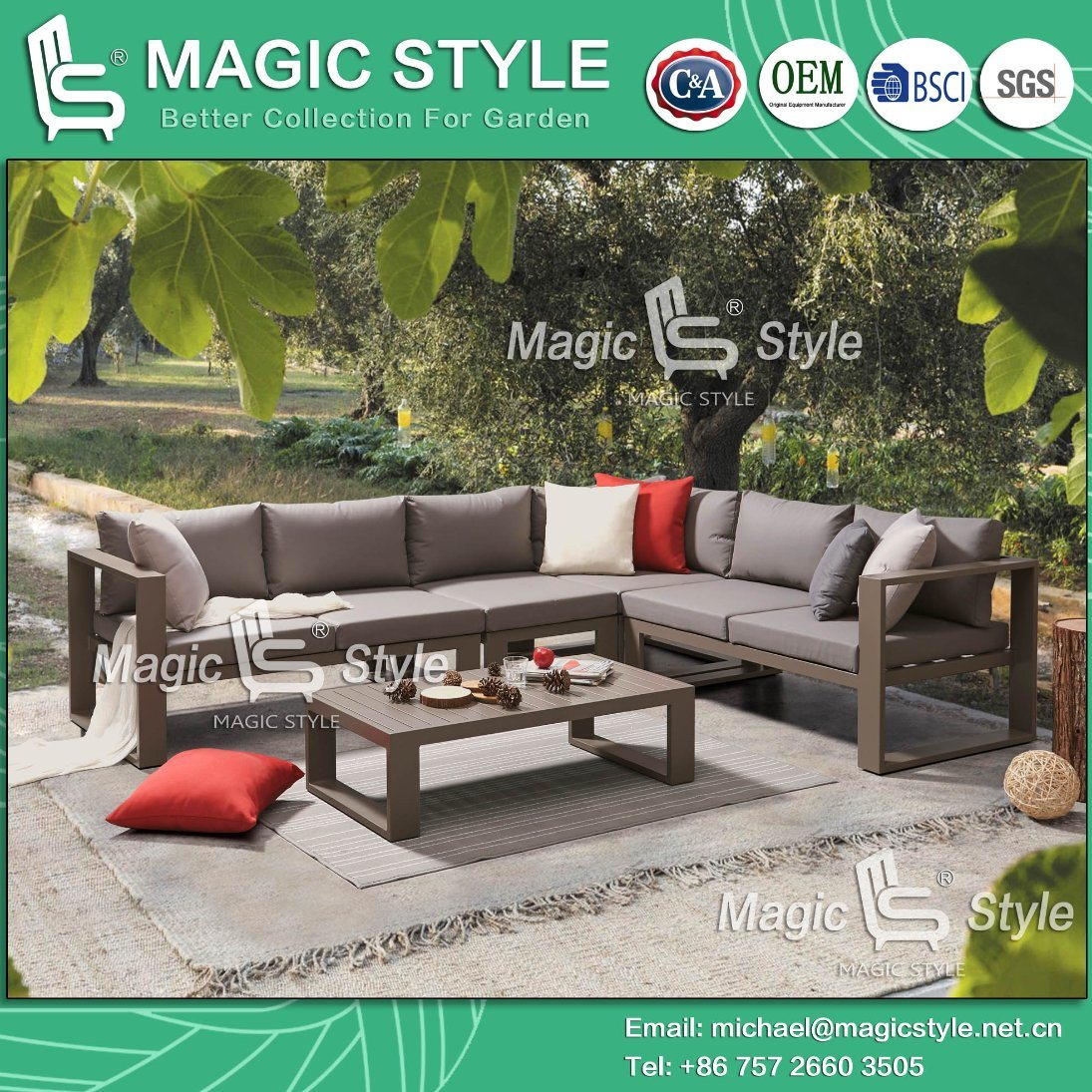 Chinese Outdoor Furniture Manufacturer