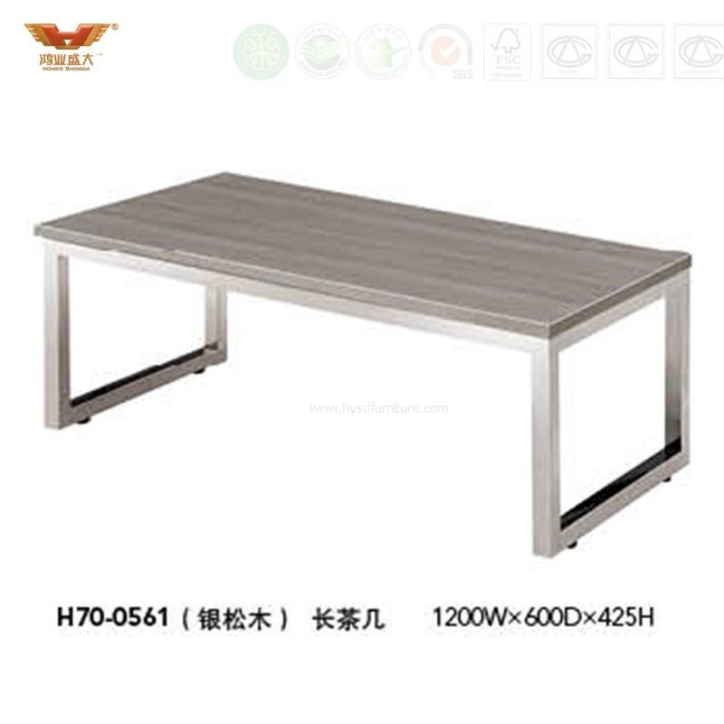 Steel Frame Office Wooden Furniture
