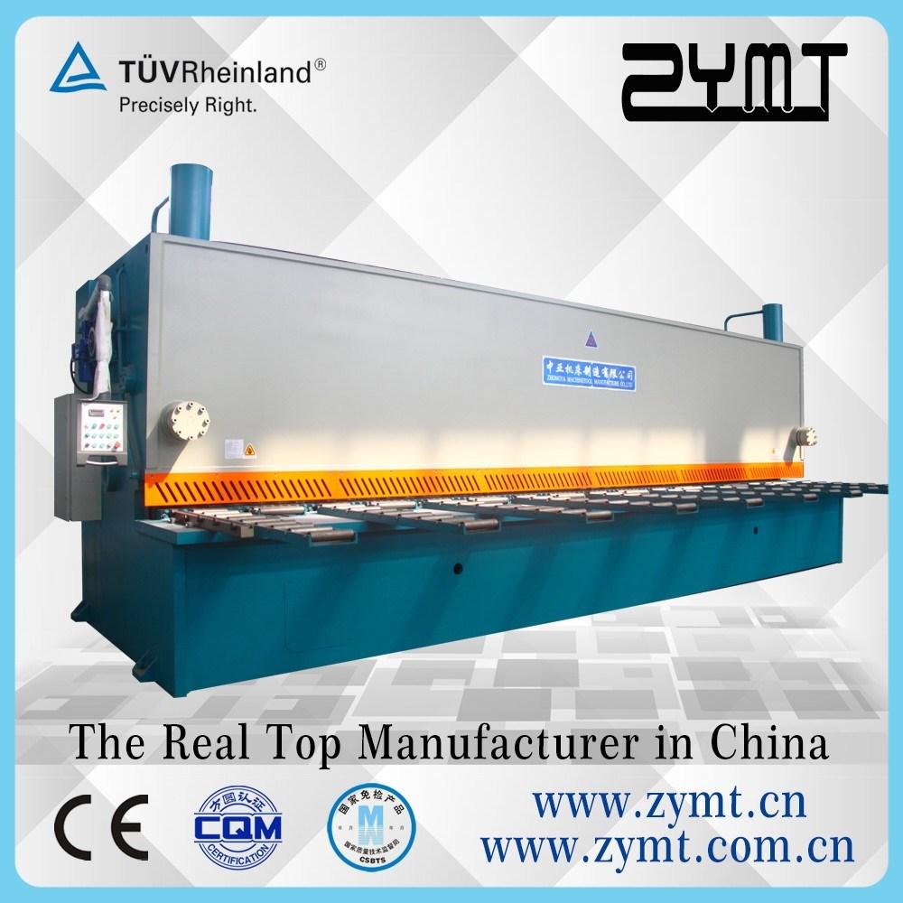 China Hydraulic Shearing Machine Sheet Metal Cutter With Ce