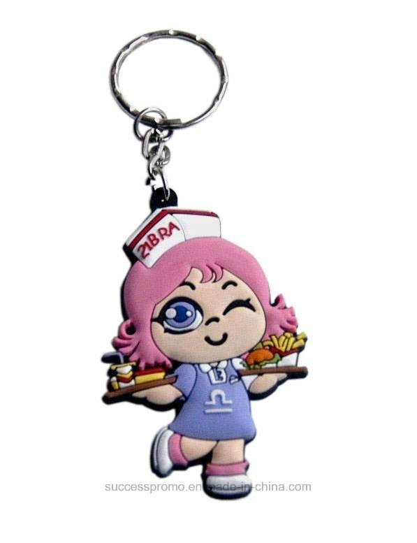 Promotion Gift Customized Design Soft PVC Keychain