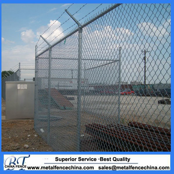 China 12 Gauge Core Wire Vinyl Coated Chain Link Fence Photos ...