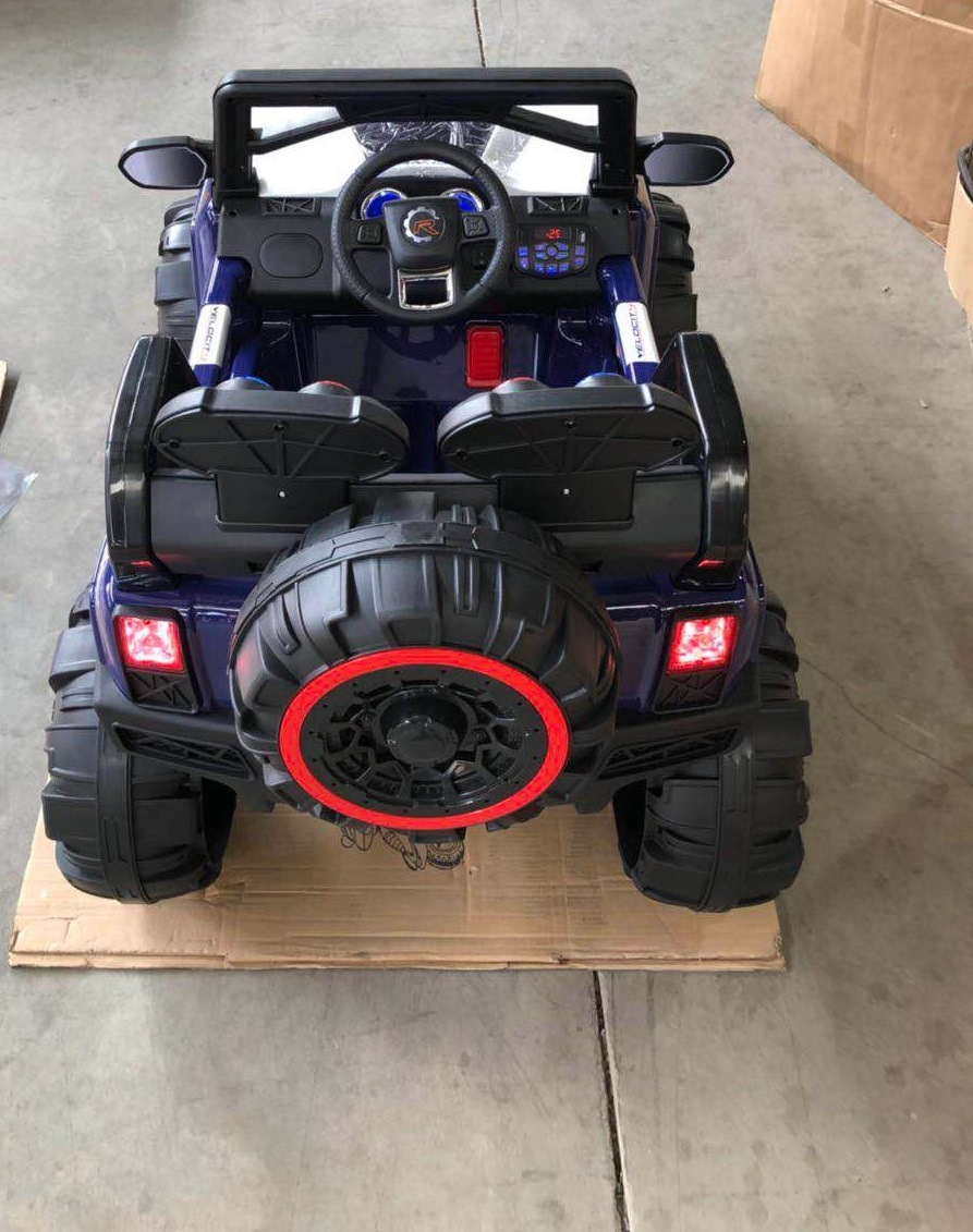 China 2018 New Battery Operated Toys With Safety Belt And Suspension