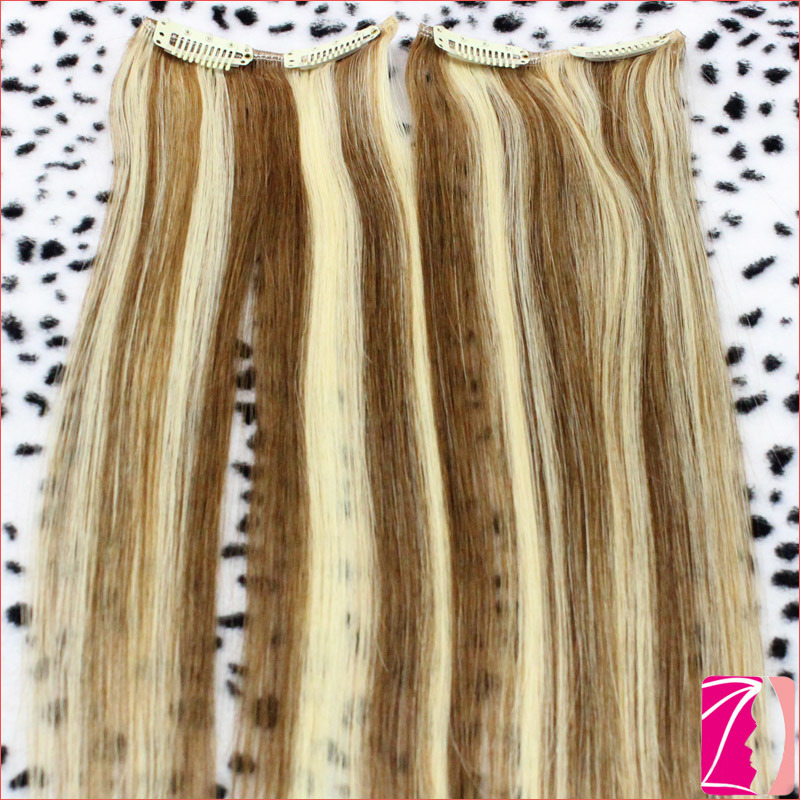 China Bellami Hair Double Drawn Remy Clip In Hair Extensions China