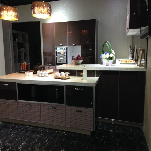 China 16mm Particle Board Carcass Kitchen Cabinet - China ...